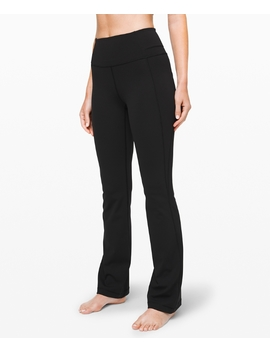 "Groove Pant Bootcut 32"" Online Only Full On Luxtreme by Lululemon"