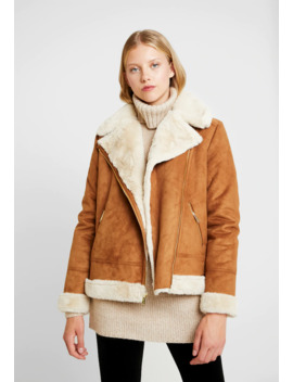 Shearling Biker Jacket   Winter Jacket by Hollister Co.
