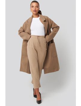 basic-slip-pants-beżowy by na-kd-basic