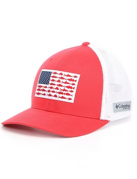 Pfg Flag Mesh Cap by Columbia
