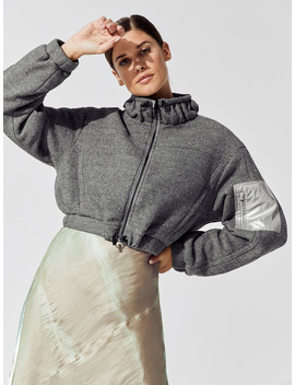 Polar Fleece Zip Up Jacket by Carbon38