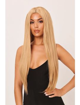 Blonde Av Syn Halle Honey Straight Lace Wig by I Saw It First