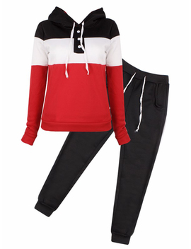 Cyber Monday Deals! Womens 2 Piece Outfits Long Sleeve Sweatshirt And Pants Clearance, Sports Joggers Sweatsuits Set Tracksuits For Women, Casual Pullover Hoodie Sweatpants Gift For Juniors, S Xl by Topcobe