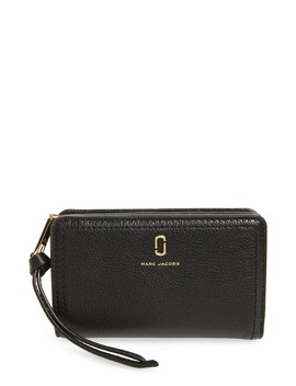 Softshot Compact Leather Wallet by The Marc Jacobs
