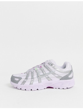 Nike Lilac And Silver P 6000 Trainers by Nike