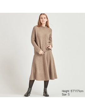 Pull Laine SoufflÉe Col Montant Femme by Uniqlo