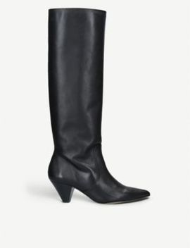 Whimsy Leather Knee Boots by Carvela