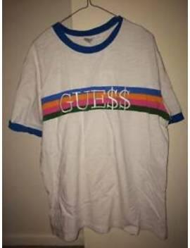 A$Ap Rocky X Guess Originals T Shirt Blue Edition by Guess