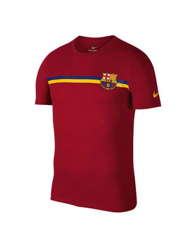 Fc Barcelona 2018 / 19 Mens Crest Tee by Nike