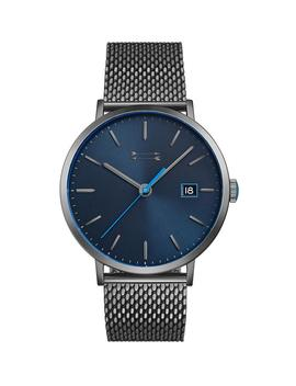 Norrebro Grey Tone Mesh Bracelet Watch, 40 Mm by Rebecca Minkoff