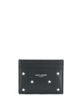 Star Print Card Holder by Saint Laurent