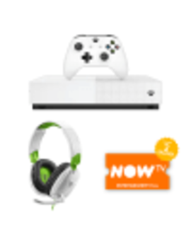Xbox One S All Digital Edition With Turtle Beach Recon 70 X Headset And Now Tv by Game