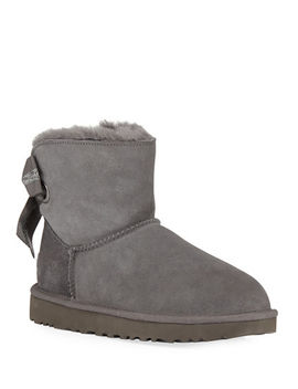 customizable-bailey-bow-mini-booties by ugg