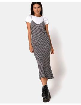 Juvina Dress In Check It Out Black By Motel by Motel