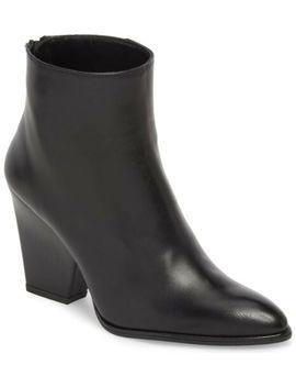 Stuart Weitzman Bedford Leather Wedge Boots Black Size 8 by Stuart Weitzman