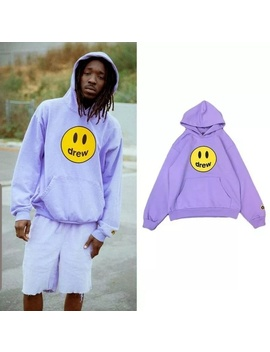 Drew House | Mascot Hoodie(Smiley Logo)/Lavender/M   Nwt by Drew