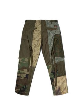 Upcycled Patchwork Cargo Pants by Bodega
