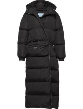 Nylon Puffer Coat by Prada