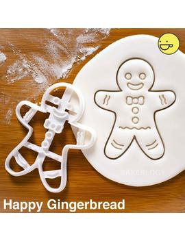 Gingerbread Man Cookies Cutters | Biscuits Cutter | One Of A Kind Ooak Christmas Xmas Party Fairy Tale Fairytale by Etsy