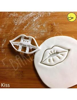Lips Kiss Cookie Cutter | Lip Beauty Biscuit Cutters Love Passion Hot Sexy Romance Romantic Makeup Fashion Pampering Party Kisses Kissing by Etsy