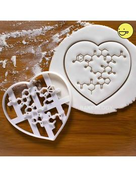 Oxytocin Molecule Cookie Cutter | Bakerlogy Chemical Brain Biology Social Bonding Love Hormone Maternal Hormones Chemistry Childbirth by Etsy