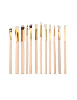 Makeup Brushes Set Kit, 12pcs Professional Cosmetic Makeup Brushes For Women, Makeup Brush Set Foundation Cosmetics Face Eyebrow Eyeliner Blush Lip Cosmetic Powder Blending Makeup Brushes Tool by Anyprize