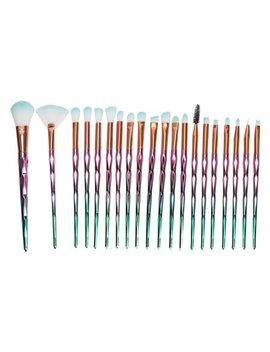 Tkoofn 20 Pcs Diamond Makeup Brush Set Foundation Blush Eyeshadow Brushes Kit Tools by Tkoofn