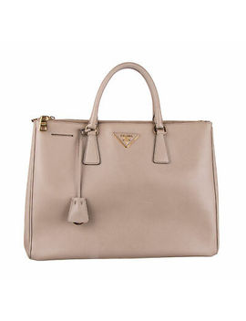 prada-taupe-saffiano-leather-galleria-tote-bag by prada