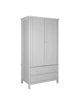 John Lewis & Partners Wilton 2 Door Wardrobe, Grey by John Lewis & Partners