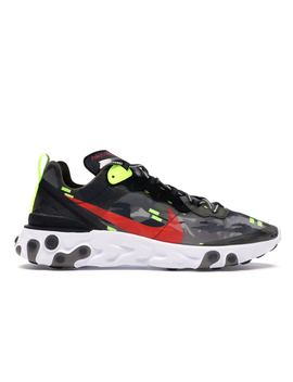 Nike React Element 87 Medium Olive Bright Crimson by Stock X