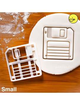 Classic Retro Floppy Disk Cookie Cutter | Biscuit Cutter | One Of A Kind Ooak by Etsy