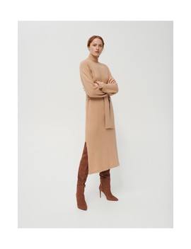 Jersey Dress With Wool And Cashmere Blend by Reserved
