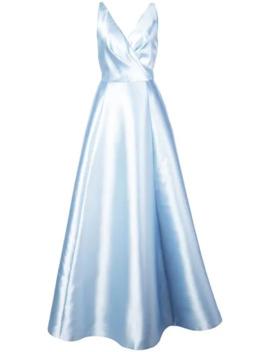 Sleeveless Flared Gown by Sachin & Babi