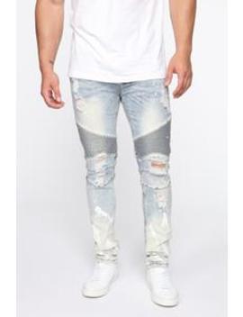 hyper-speed-moto-jeans---lightwash by fashion-nova