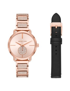 Portia Watch Set, 36mm by Michael Kors