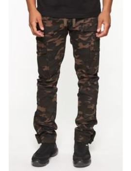 Worker Cargo Pants   Camouflage by Fashion Nova
