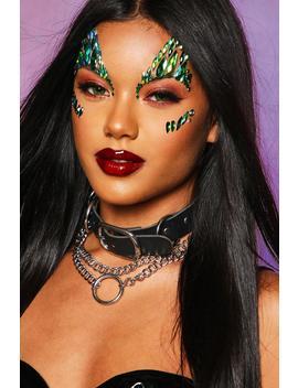 Halloween Mermaid Face Gems by Boohoo