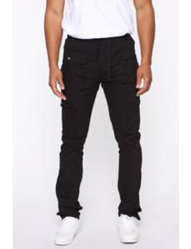 Worker Cargo Pants   Black by Fashion Nova