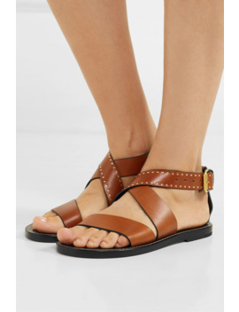 Juzee Studded Leather Sandals by Isabel Marant