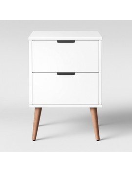 Single Modern Nightstand White   Pillowfort™ by Shop This Collection