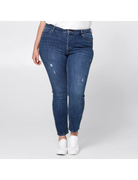 Belle Curve Slim Ankle Jeans   Blue by Target