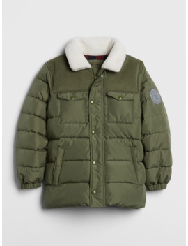 Kids Cold Control Max Shirt Jacket by Gap