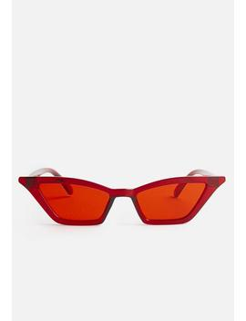 Nefarious Sunglasses   Red by Superbalist