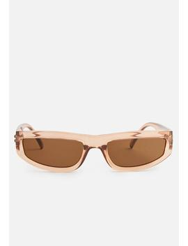 Valentina Sunglasses   Peach & Brown by Superbalist