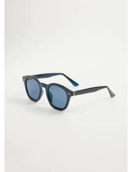 Солнцезащитные очки в прозрачной оправе by Mango