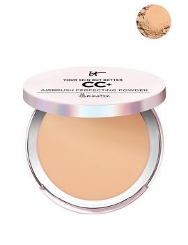 Cc+ Airbrush Perfecting Illumination Powder   Medium Tan by It Cosmetics