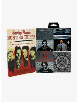 Supernatural 7 Days Of Socks Gift Set by Hot Topic