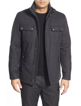 Melton Coat by Cole Haan