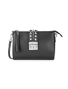Coline Studded Leather Crossbody Bag by Valentino By Mario Valentino