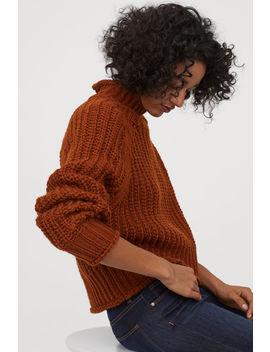 Пуловер с поло яка by H&M